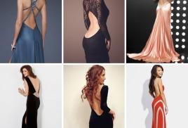 Вечерние платья с открытой спиной